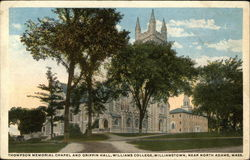 Thompson Memorial Chapel and Griffin Hall, Williams College