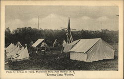 Fairmount Park, Erecting Camp Wireless