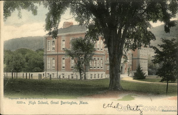 5253 a. High School Great Barrington Massachusetts