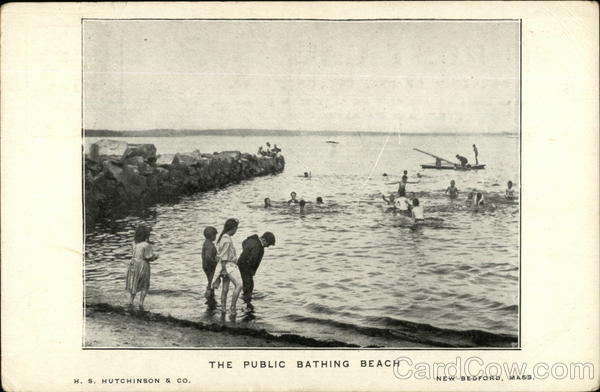 The Public Bathing Beach New Bedford Massachusetts