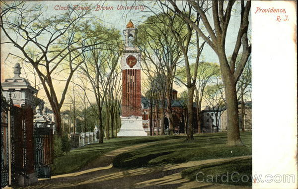 Clock Tower, Brown University Providence Rhode Island