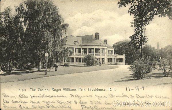 The Casino,Roger Williams Park Providence Rhode Island