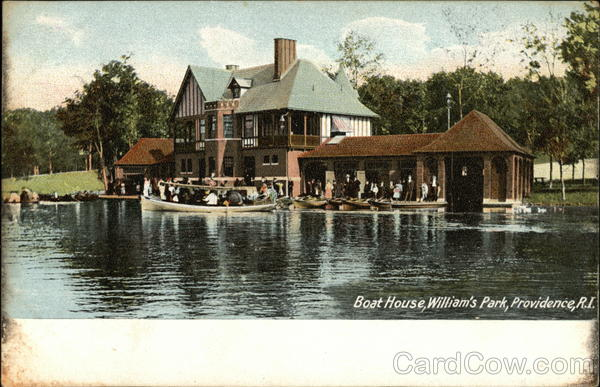 Boat House, William's Park Providence Rhode Island