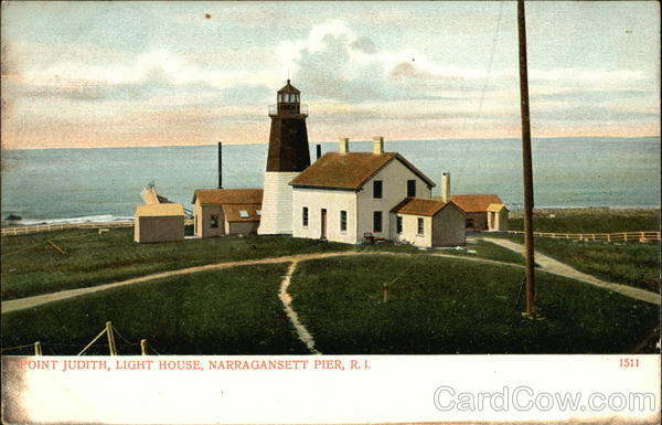 Point Judith, Light House Narragansett Rhode Island