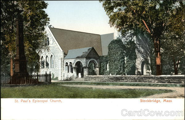 St. Paul's Episcopal Church Stockbridge Massachusetts