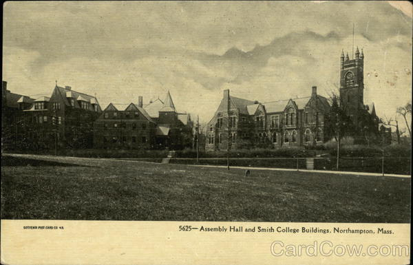 Assembly Hall and Smith College Buildings Northampton Massachusetts