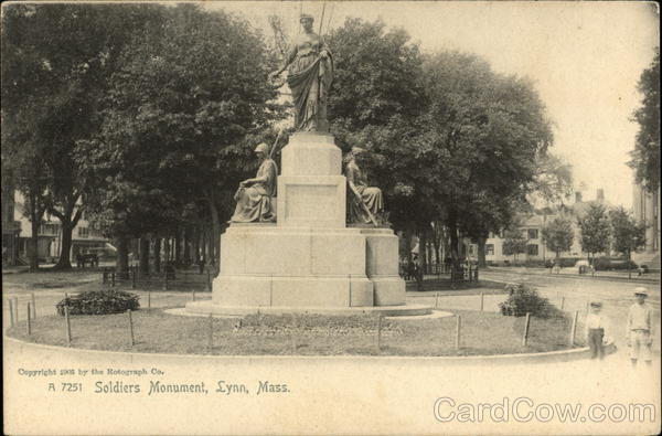 Soldiers Monument Lynn Massachusetts