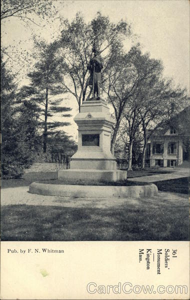 361 Soldiers Monument Kingston Massachusetts