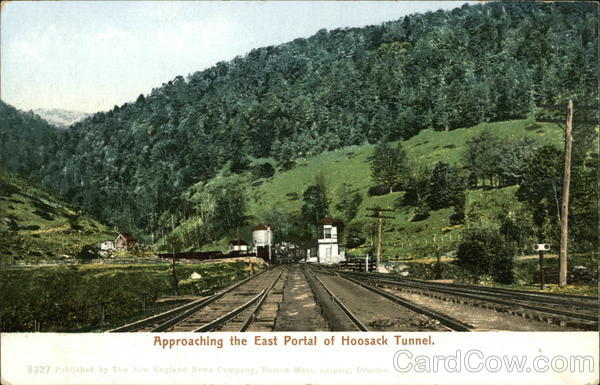 Approaching the East Portal of Hoosack Tunnel North Adams Massachusetts