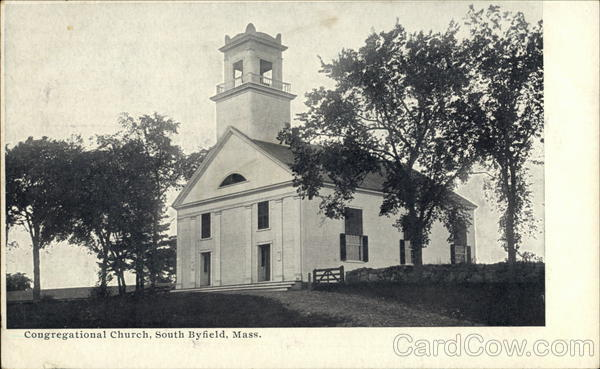 Congregational Church South Byfield Massachusetts