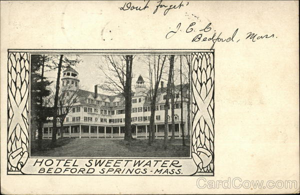 Hotel Sweetwater Bedford Springs Massachusetts