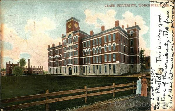Clark University Worcester Massachusetts