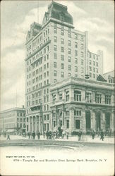 Temple Bar and Brooklyn Dime Savings Bank