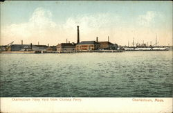 Charlestown Navy Yard from Chelsea Ferry.