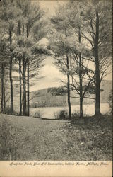 Houghton Pond, Blue Hill Reservation, Looking North