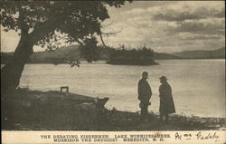 The Debating Fisherman, Lake Winnipesaukee Morrison the Druggist