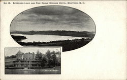 Spofford Lake and Pine Grove Springs Hotel