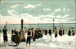 Bathing at Coney Island