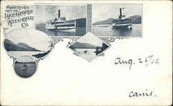 Greetings from the Lake George Steamboat Co.