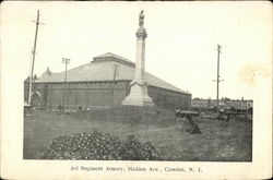 3rd Regiment Armory, Haddon Ave.