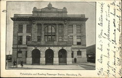Philadelphia and Reading Passenger Station