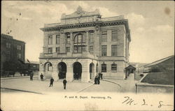P. and R. Depot Postcard