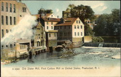 Old Slater Mill, First Cotton Mill in United States