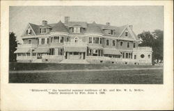 Blithewold, the Beautiful Summer residence of Mr. & Mrs. W.L. McKee