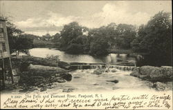 The Falls and Pawtuxet River