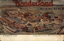 Wonderland Revere Beach Birdseye View