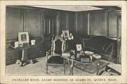 Panelled Room, Adams Mansion, 135 Adams St.