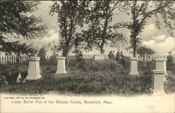A 6748 Burial Plot of the Webster Family
