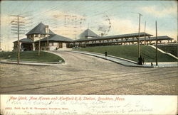 New York, New Haven and Hartford R.R. Station