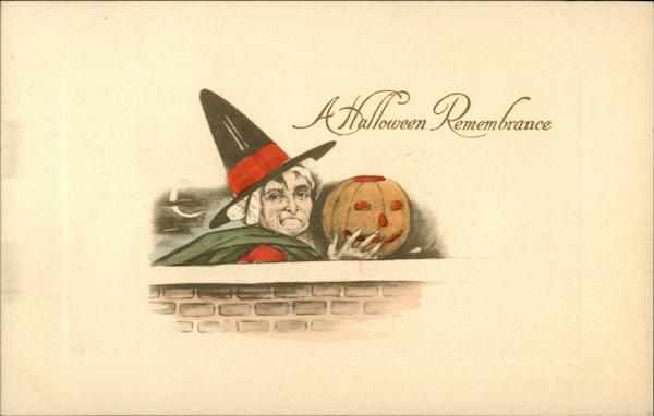Witch & JOL - A Halloween Remembrance
