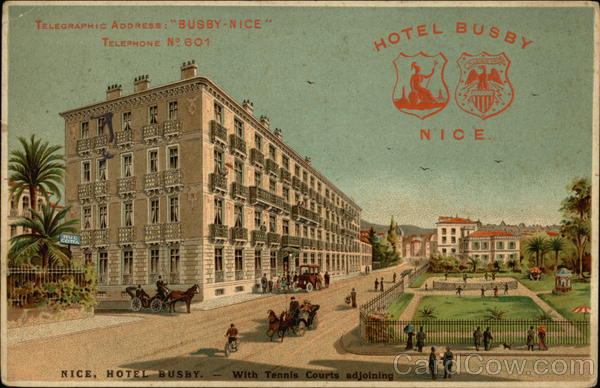 Hotel Busby Nice France