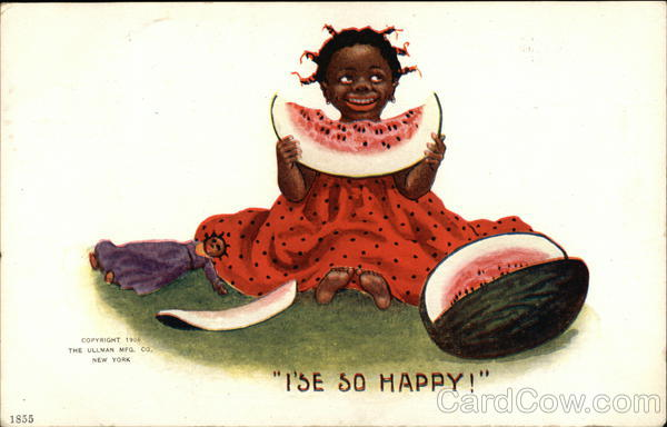 I'se so happy! Black Americana