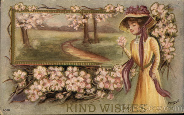 Kind Wishes Reynolds Artist Signed