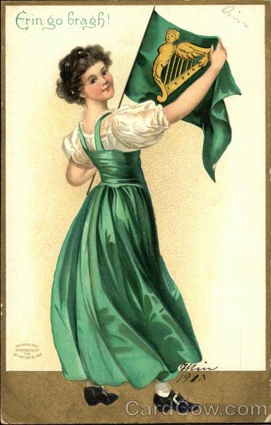 Erin go bragh! Ellen Clapsaddle St. Patrick's Day