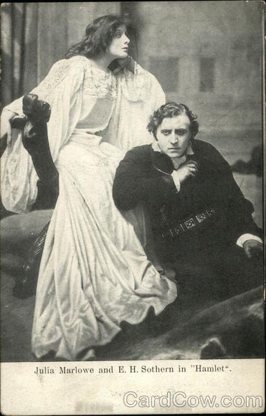 Julia Marlowe and E. H. Sothern in Hamlet Actors