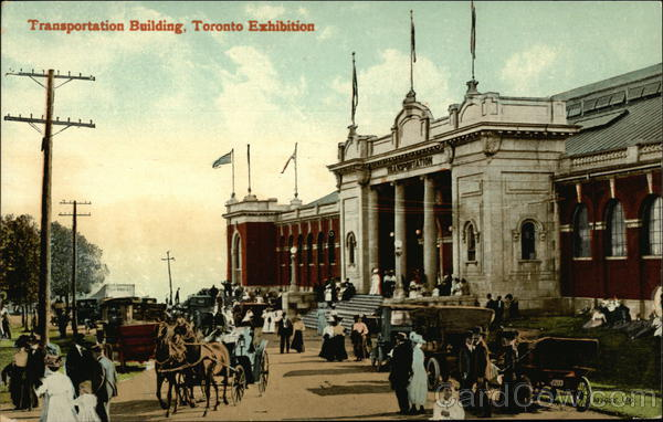 Transportation Building, Toronto Exhibition Exposition