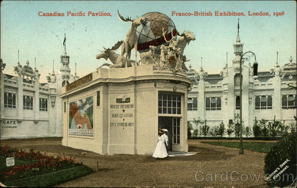 Canadian Pacific Pavilion, Franco-British Exhibition, London, 1908