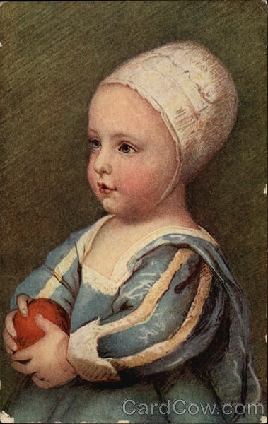 Figlio di Carlo I. d'Inghilterra- Painting by Anthony Van Dyck