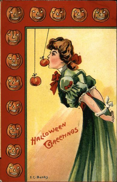 Halloween Greetings E. C. Banks