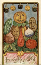 Anthropomorphic Vegetables and Pumpkins
