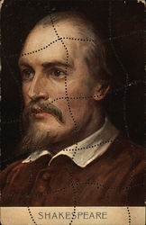 Puzzle - Shakespeare Portrait with Pinholes