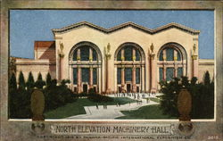 North Elevation, Machinery Hall