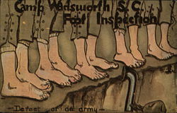 Camp Wadsworth S.C. Foot Inspection