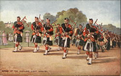 Pipers of the Highland Light Infantry