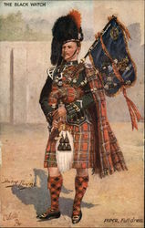 The Black Watch, Piper, Full Dress