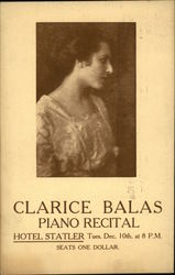 Portrait of Clarice Balas - Piano Recital